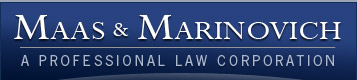 Maas & Marinovich - A Professional Law Corporation